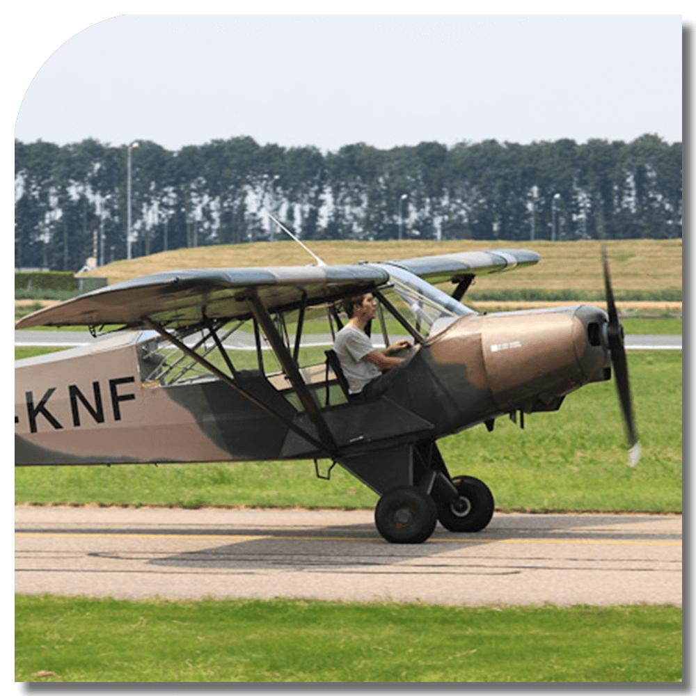 Staartwiel vliegen/Tailwheel Rating