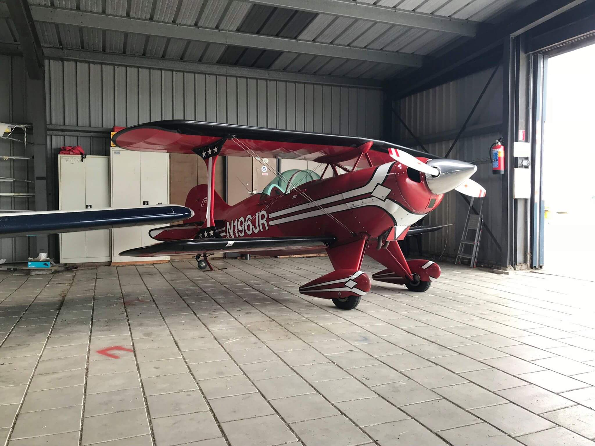 Pitts S1T Aerobatic Wings over Holland