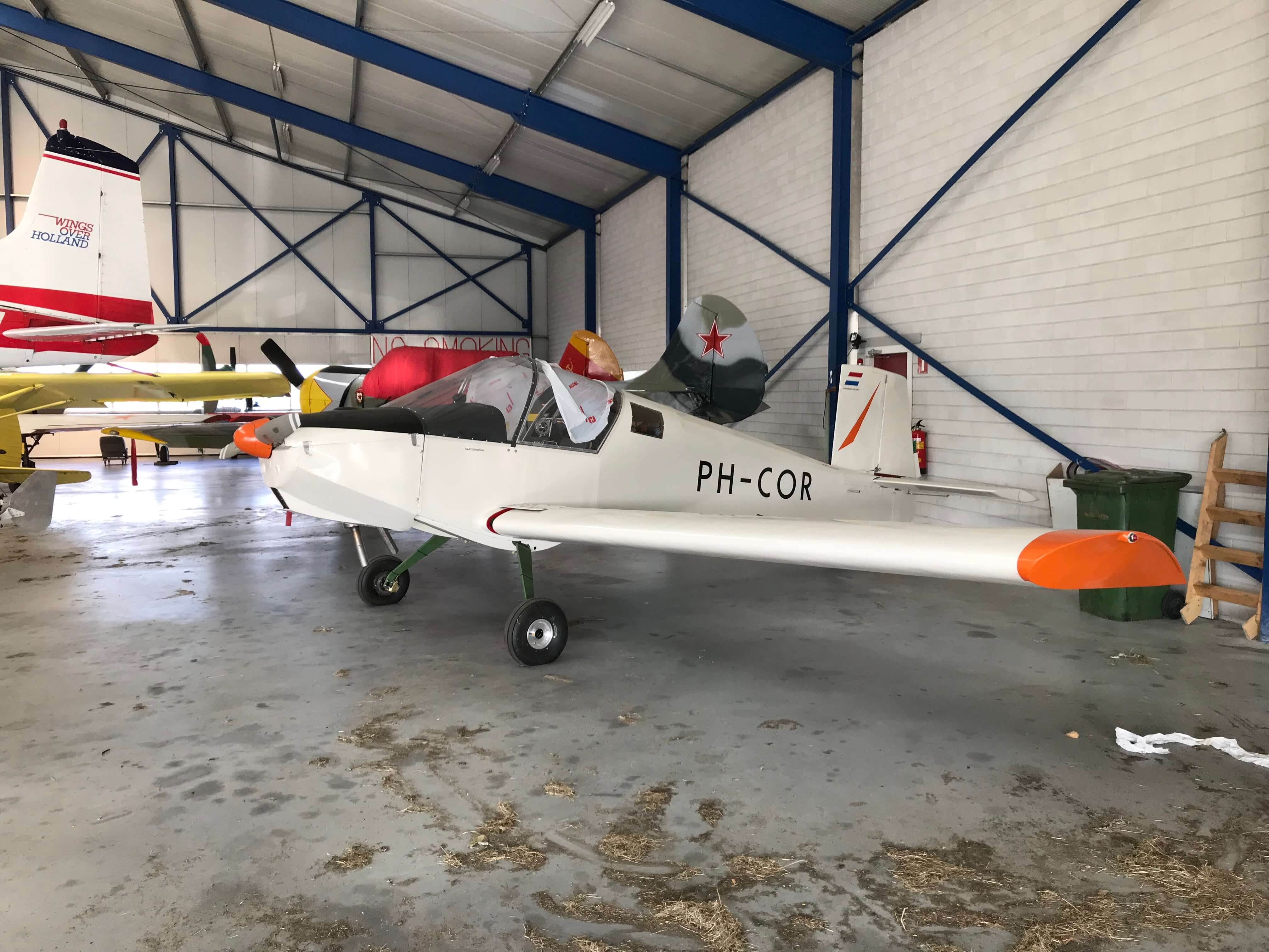 Amateur Bouwvliegtuig Wings over Holland