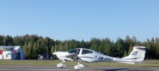 DA40 PH-WOH Lycoming